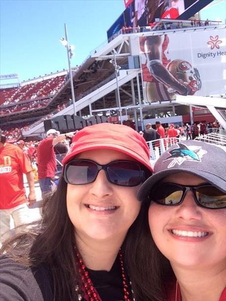 "<div class=""meta image-caption""><div class=""origin-logo origin-image ""><span></span></div><span class=""caption-text"">49ers home opener! (Photo submitted by Casandra H. via uReport)</span></div>"