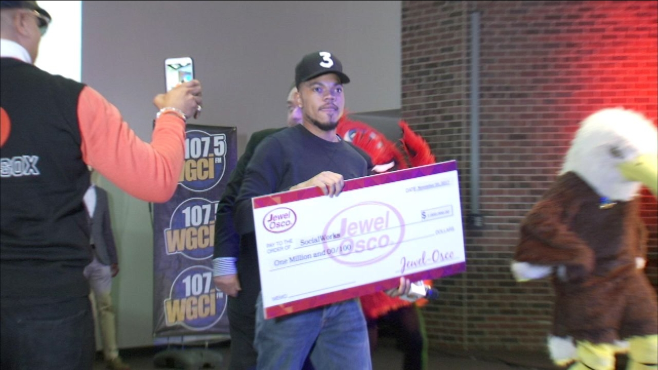 Jewel-Osco donates $1M to Chance the Rapper's charity