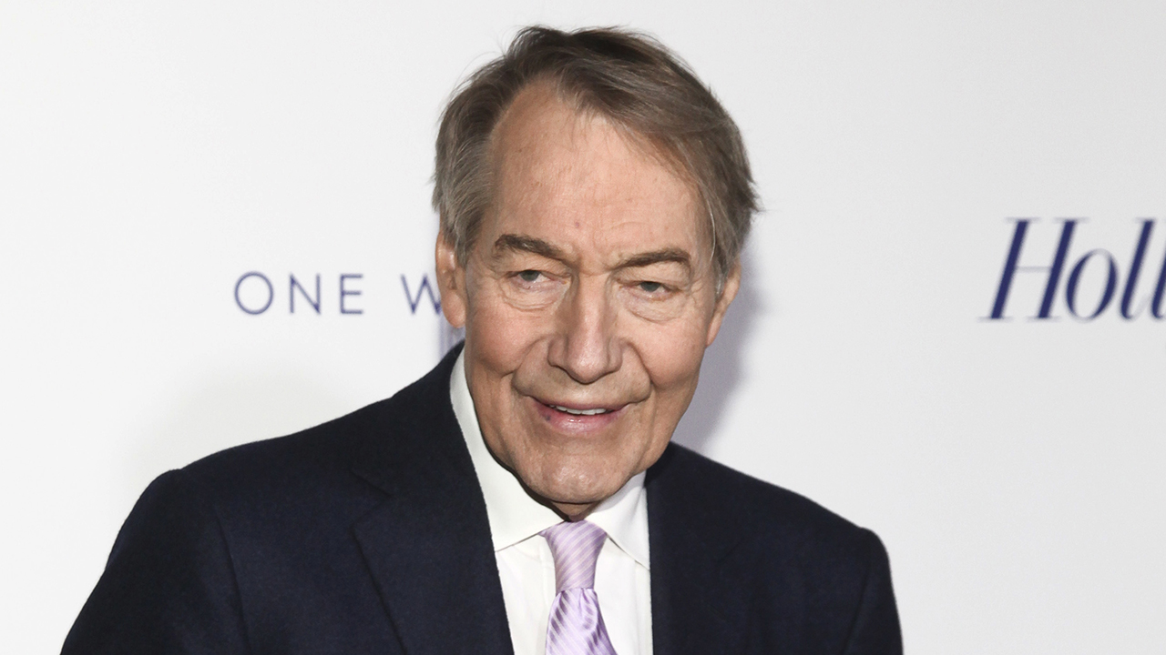 Charlie Rose seen in April 2017
