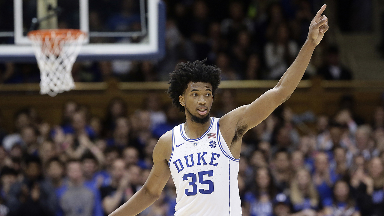 Duke's Marvin Bagley III scored 24 points to lead the Blue Devils past Furman.