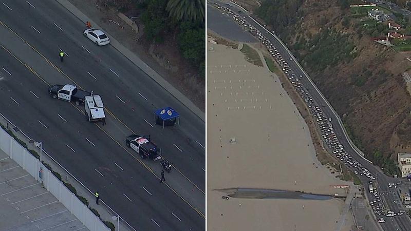 Fatal crash shuts down PCH, WB 10 in Santa Monica