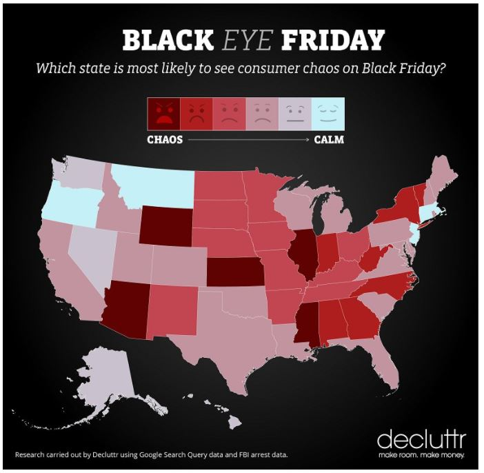 Is Black Friday Chaos Bigger In Texas State By State Analysis Abc13 Houston