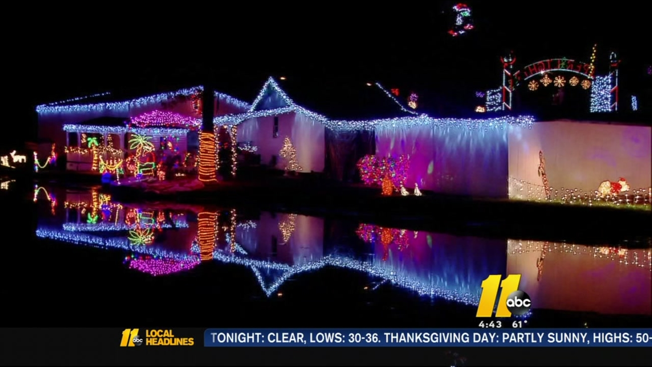 Wake Forest \'Great Christmas Light Fight\' champs ready to flip the ...