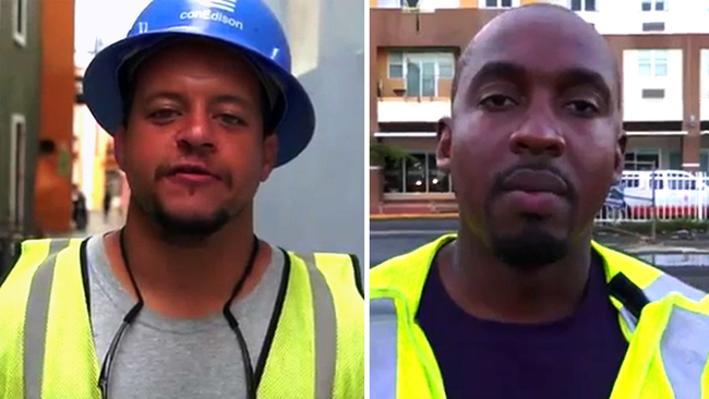 Watch con edison workers helping puerto rico send thanksgiving watch con edison workers helping puerto rico send thanksgiving greetings abc7ny m4hsunfo