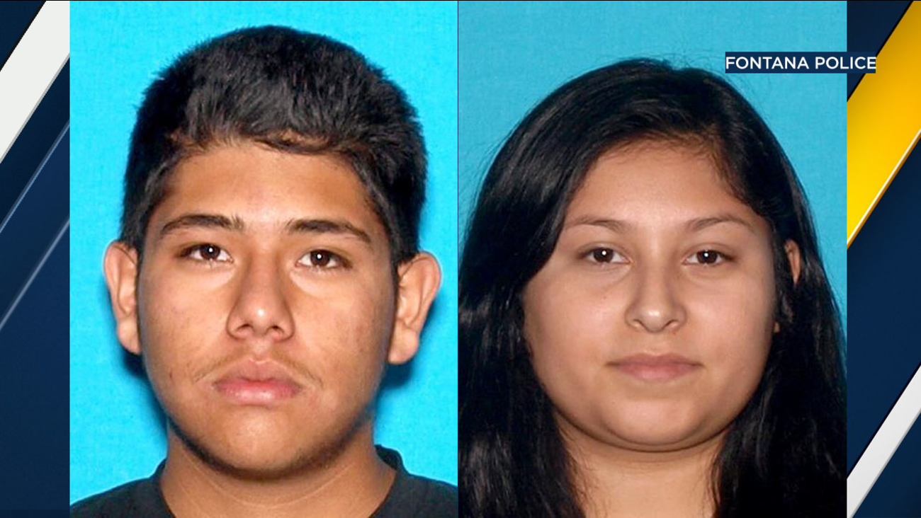 Twenty-year-old John Nieto, and 20-year-old Elisabeth Mancilla were arrested and charged after an 18-year-old man was run over in Fontana, police said.