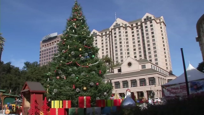 christmas in the park returns to downtown san jose abc7newscom