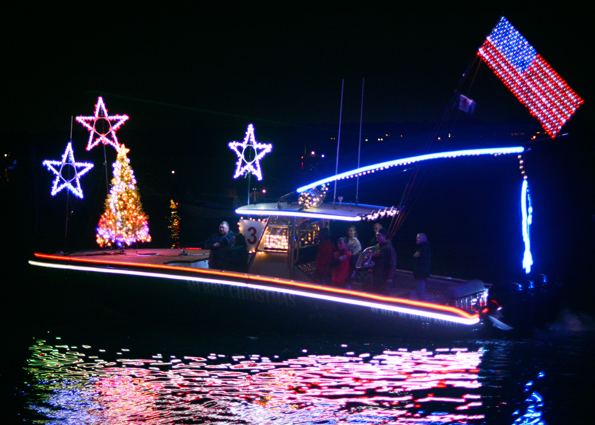 "<div class=""meta image-caption""><div class=""origin-logo origin-image none""><span>none</span></div><span class=""caption-text"">2017 NC Holiday Flotilla Best 31 ft and Over Award winner (Credit: Beth W. Hedgepeth)</span></div>"