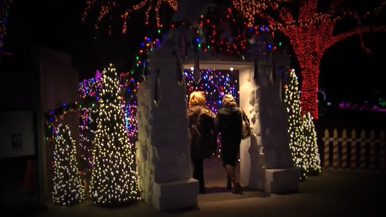 houston zoo hosting sensory friendly zoo lights on tuesday abc13com - Christmas Lights At The Zoo