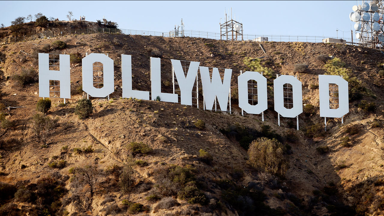 The Hollywood Sign is pictured on Tuesday, Aug. 23, 2016, in Los Angeles.