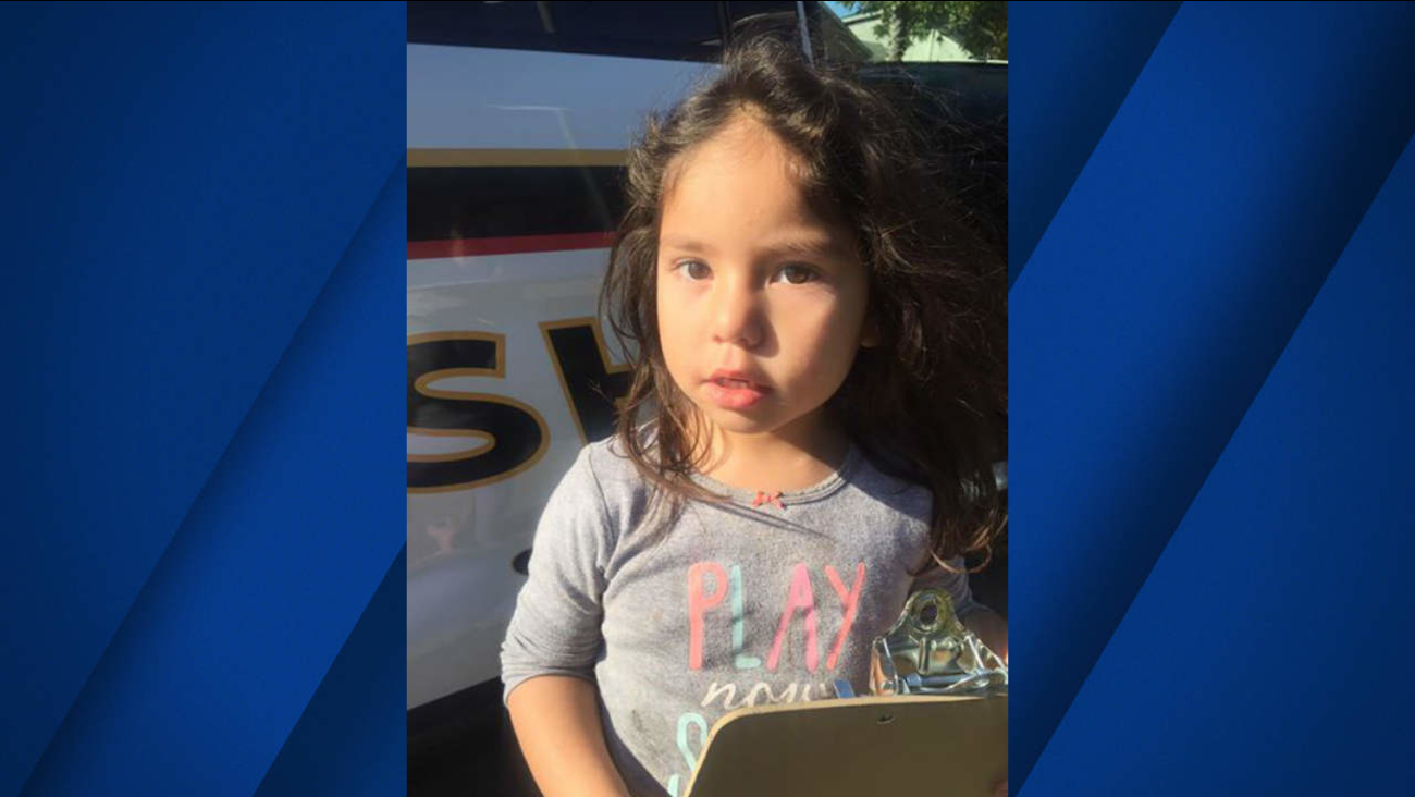 The Solano County Sheriff's Department is asking for help finding anyone who may know this girl who was found in the Benicia Rd & Sperry Ave area in Vallejo.