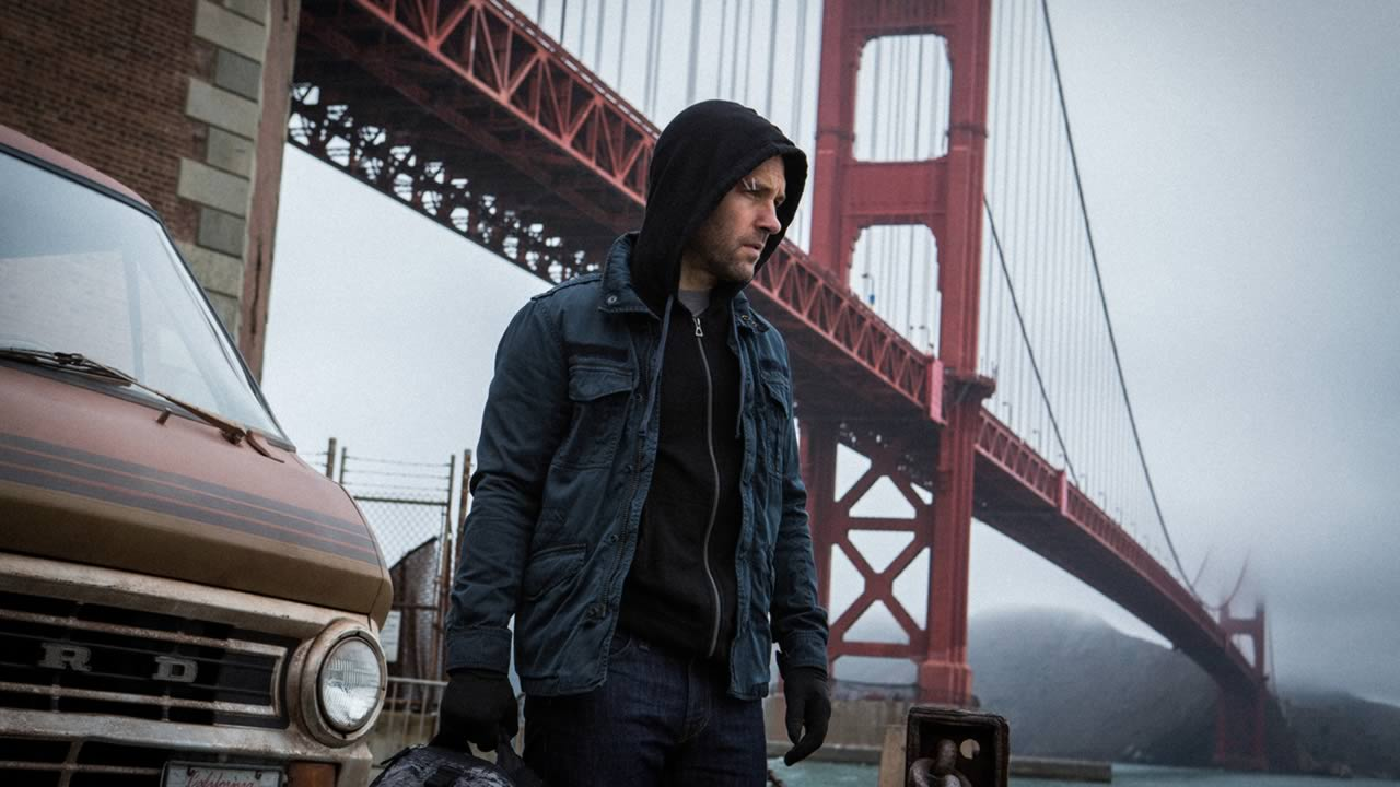 "Shot on location in San Francisco, Paul Rudd stars in Marvel's ""Ant-Man."""