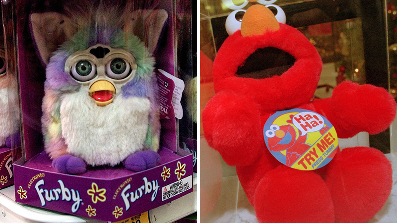Elmos Vaccine Video Is Cutest Argument >> Furby Tickle Me Elmo And Hatchimals The Must Have Holiday Toys Of