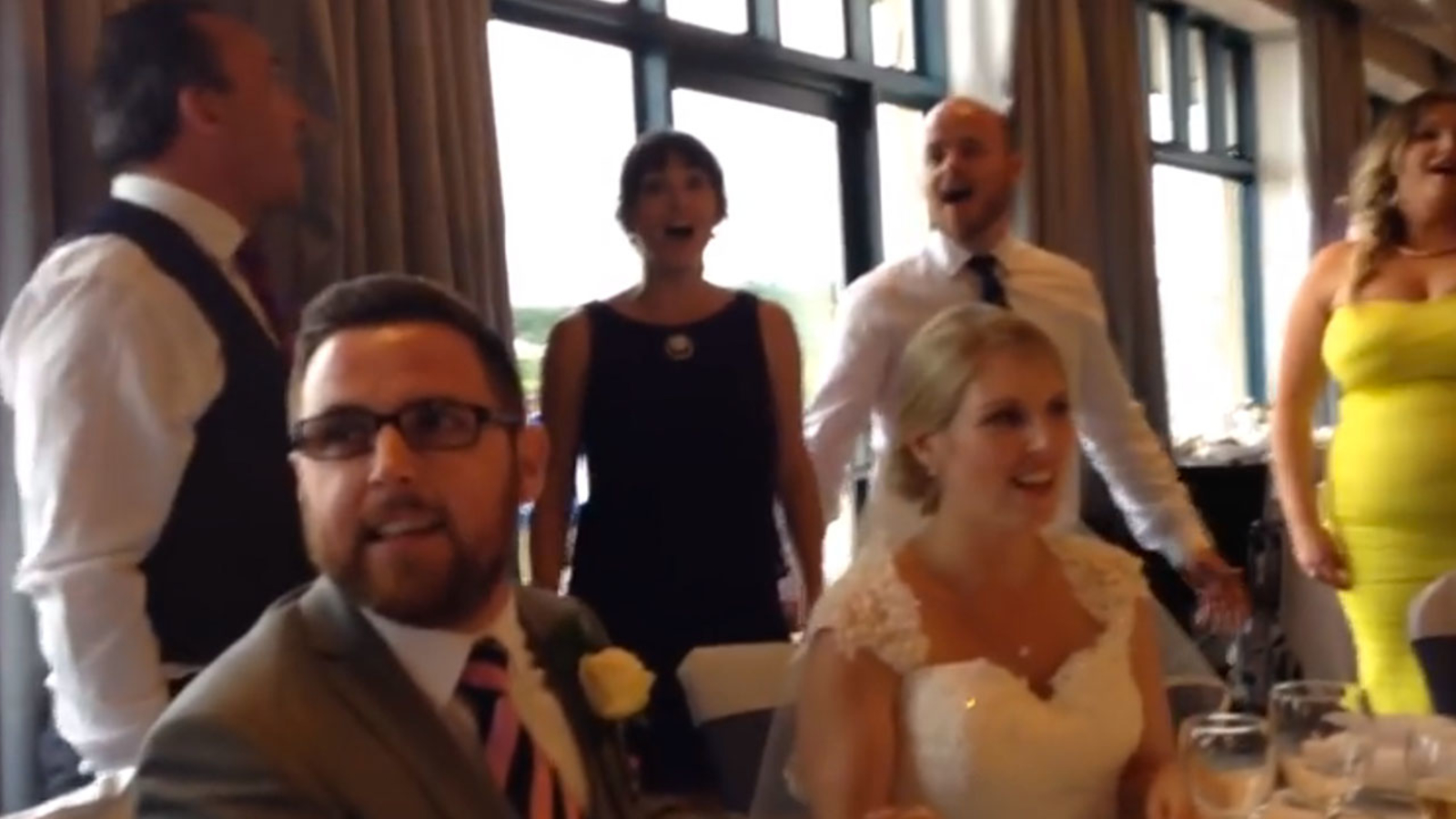 Wedding Goes Broadway With Seasons Of Love Flashmob From Rent 6abc Philadelphia,Wedding Guest Purple Plus Size Dress