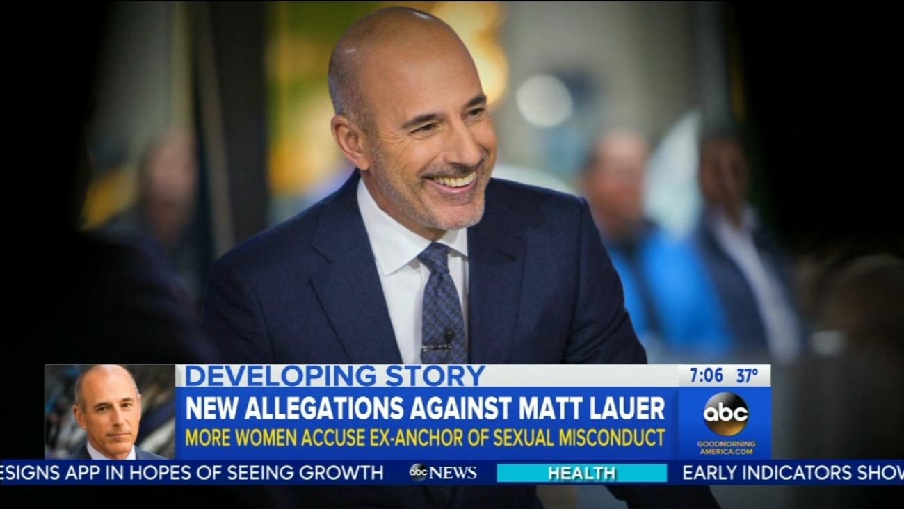 Matt Lauer releases statement
