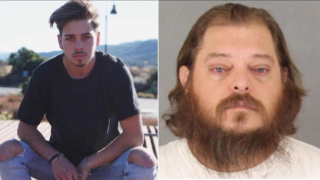 Prosecutors said Temecula resident James Fortney (right) fatally stabbed local social media star Kevin Rodriguez in the parking lot of a Temecula Walmart in November 2017.