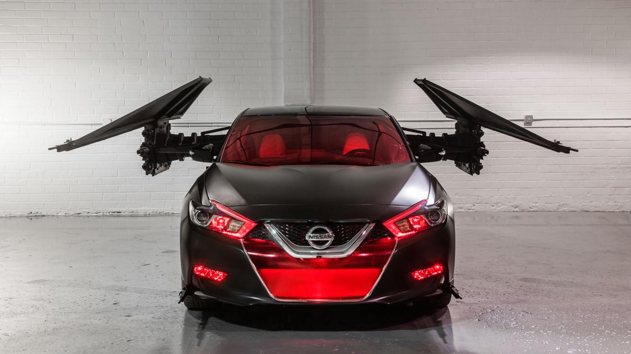 Custom Nissan Maxima >> Nissan S Custom Star Wars The Last Jedi Vehicles At The