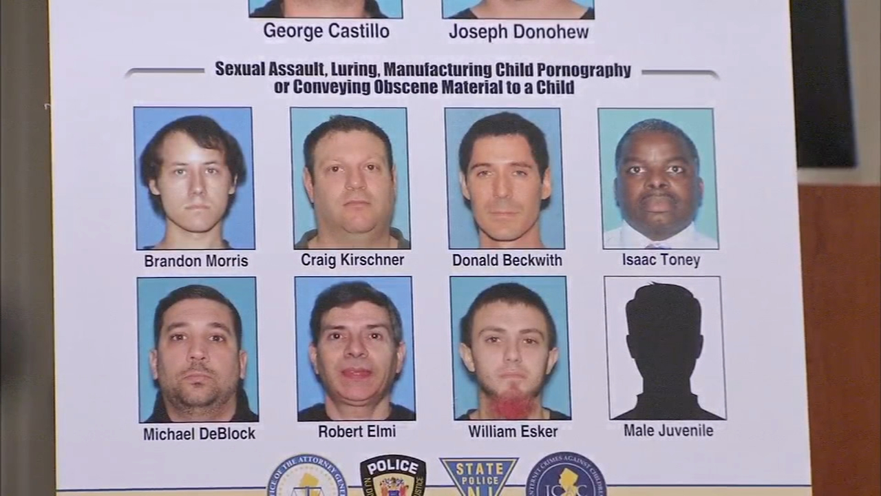 79 Alleged Child Predators Charged In New Jersey 6abc Philadelphia
