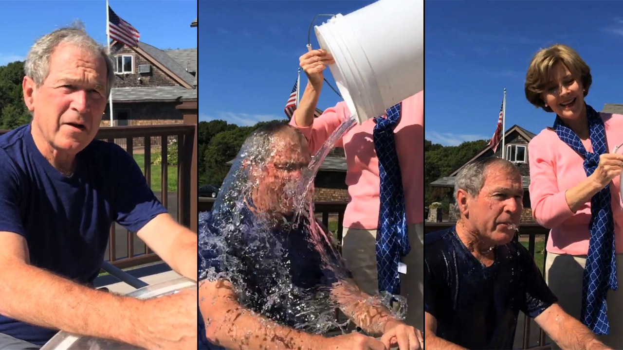 The Ice Bucket Challenge Goes Presidential 6abc Com