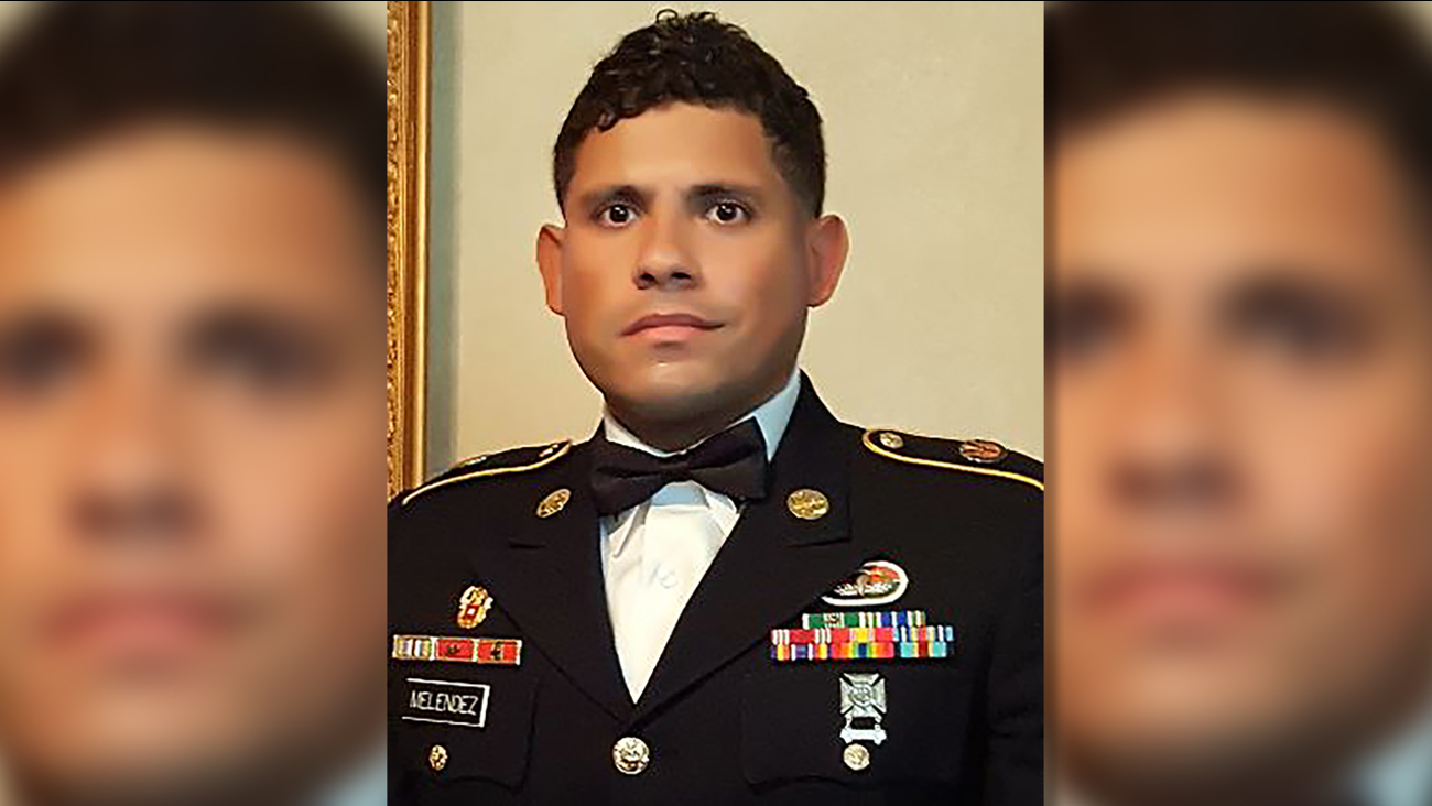 U.S. Army Specialist Jose Melendez