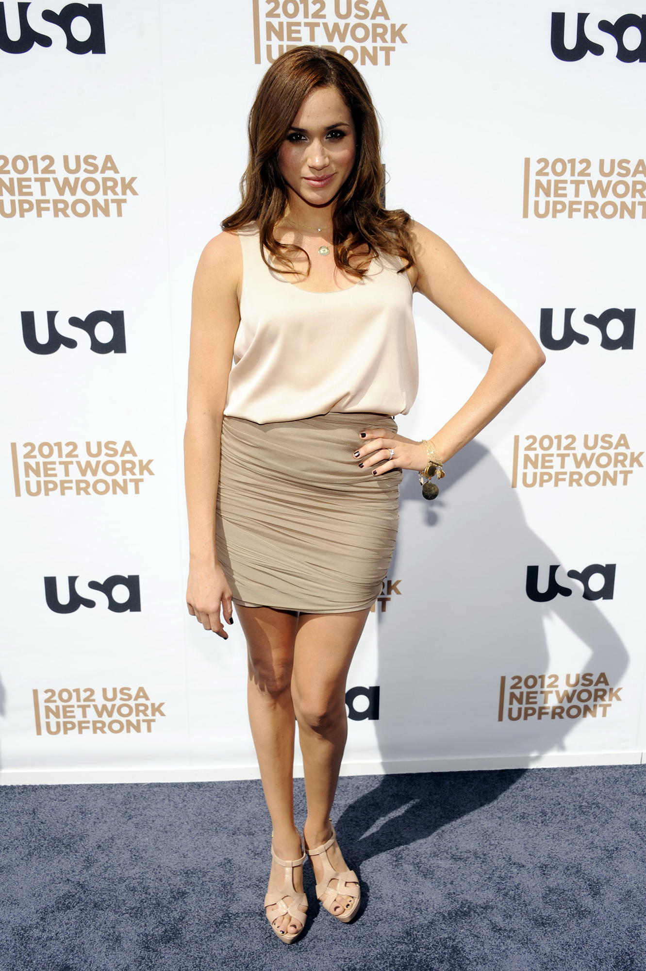 <div class='meta'><div class='origin-logo' data-origin='AP'></div><span class='caption-text' data-credit='AP'>Meghan Markle attends the USA network upfront presentation at Alice Tully Hall, Thursday, May 17, 2012 in New York. (AP Photo/Evan Agostini)</span></div>