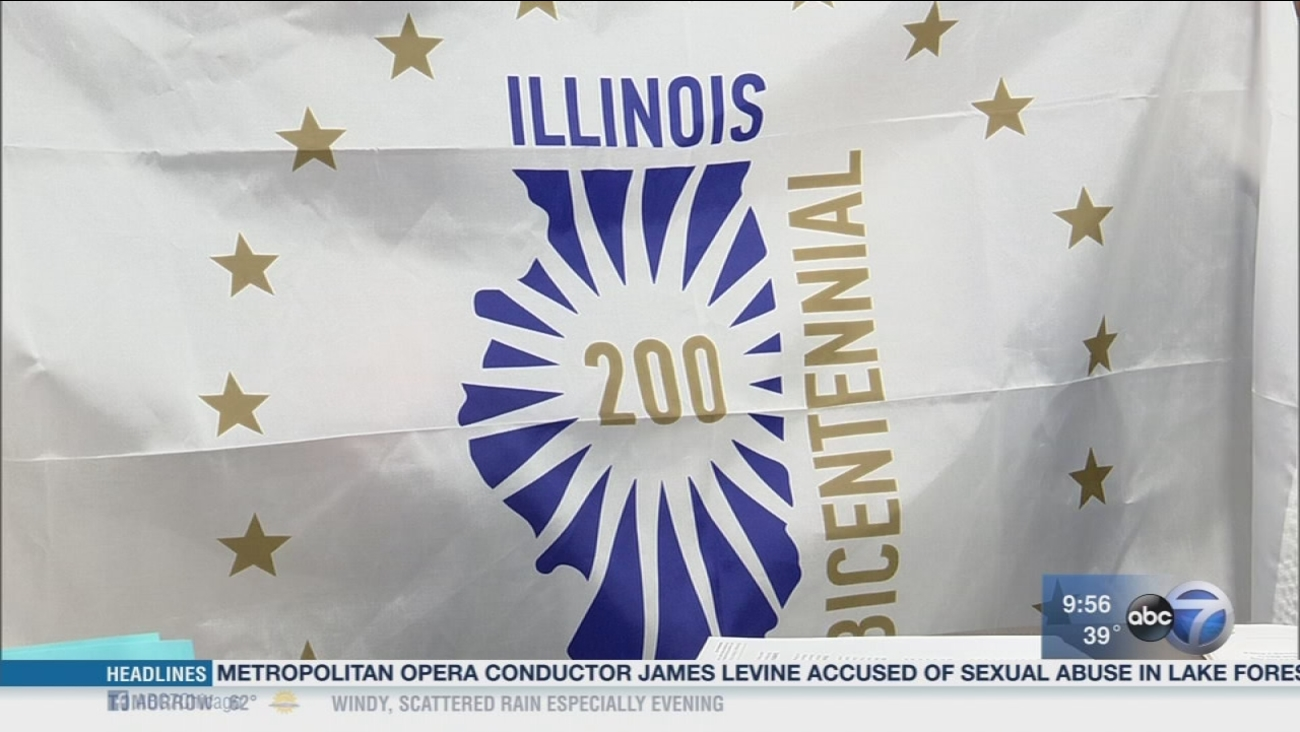 Newsviews Part 2: Illinois kicks off year-long celebration for bicentennial