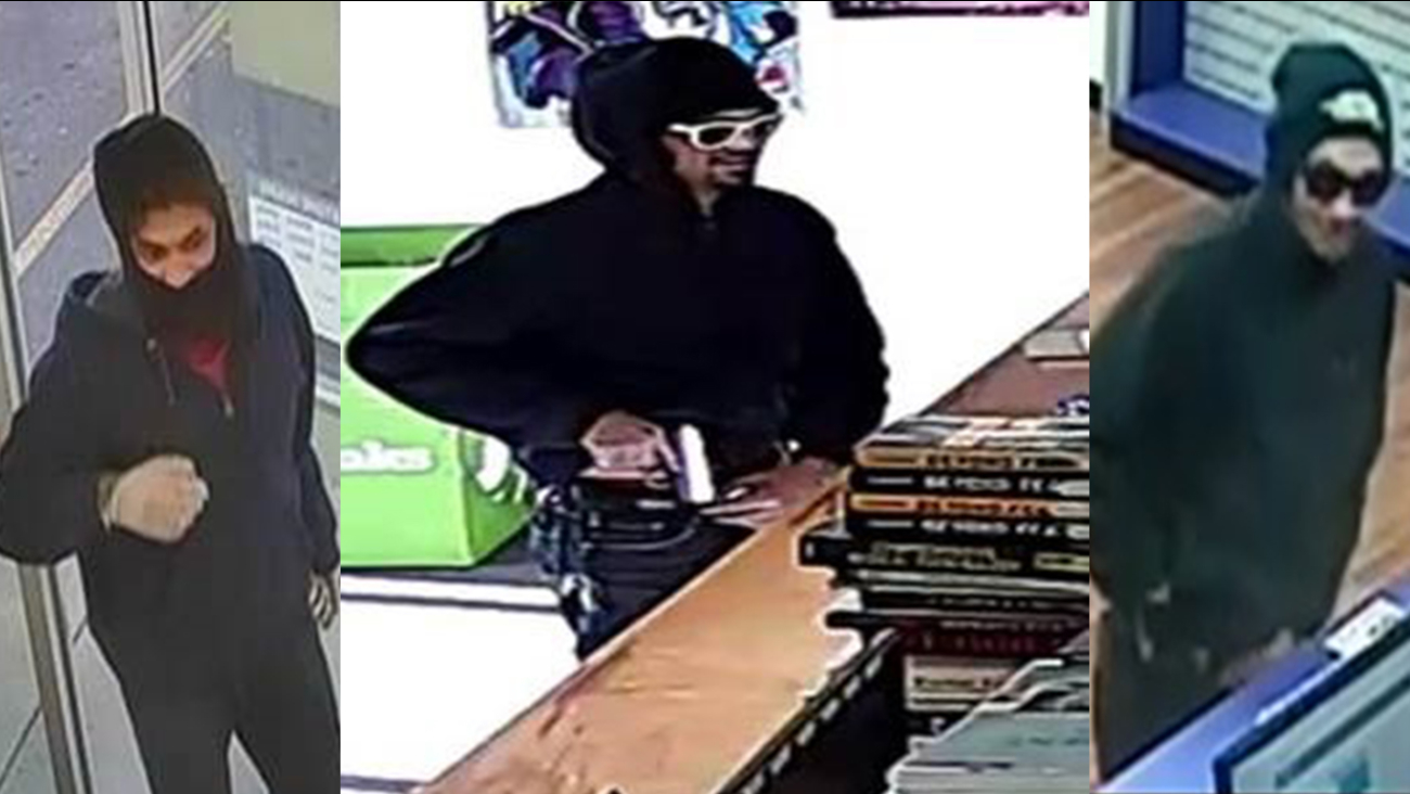 Police believe this man is responsible for several armed robberies around Fayetteville