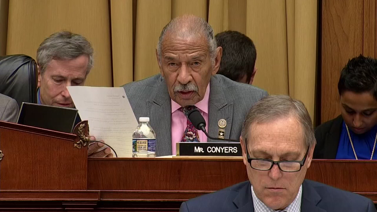 Michigan Congressman Conyers reporteldy to retire