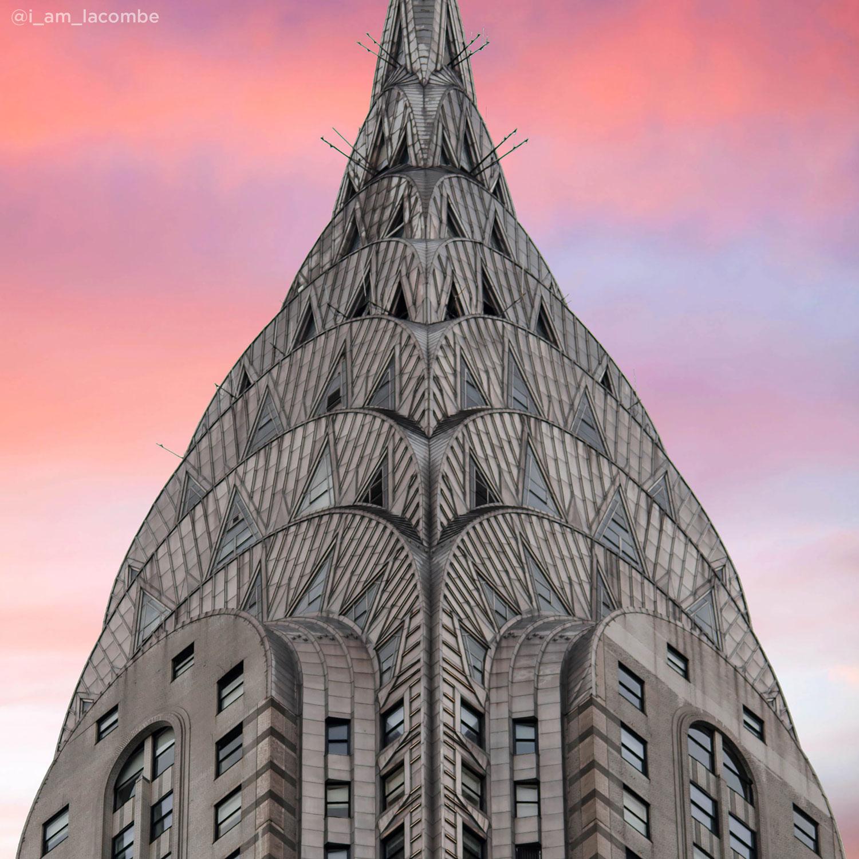<div class='meta'><div class='origin-logo' data-origin='none'></div><span class='caption-text' data-credit='David LaCombe (@i_am_lacombe)'>The Chrysler Building up close</span></div>