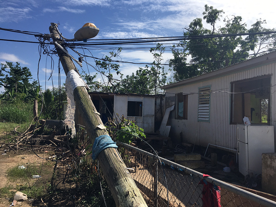 <div class='meta'><div class='origin-logo' data-origin='WLS'></div><span class='caption-text' data-credit=''>Hurricane damage in Añasco in western Puerto Rico on Dec. 4, 2017.</span></div>