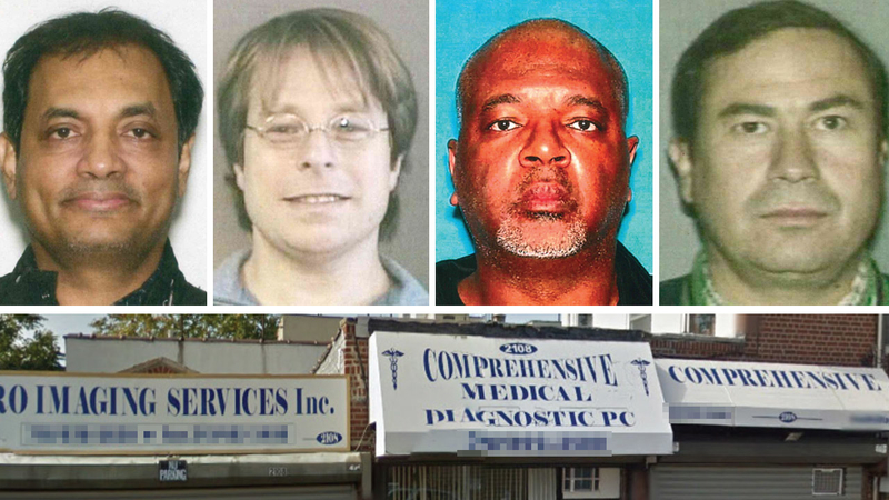 4 NYC area doctors among 20 charged in massive health care fraud scheme