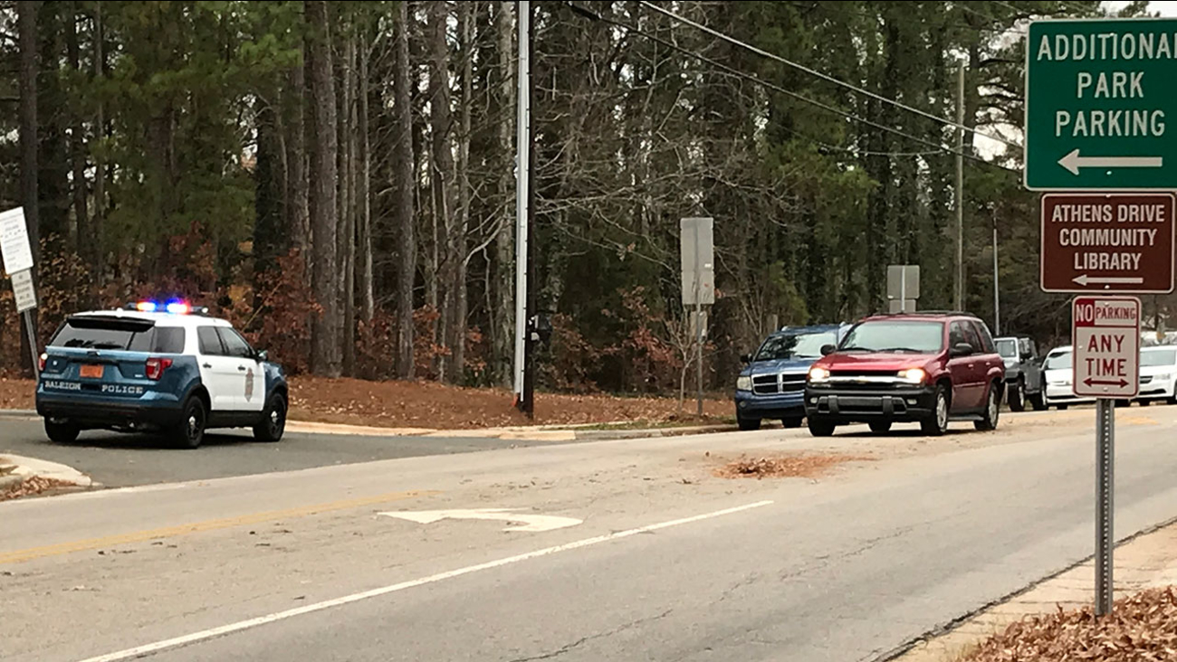Athens Drive High School on lockdown due to police activity