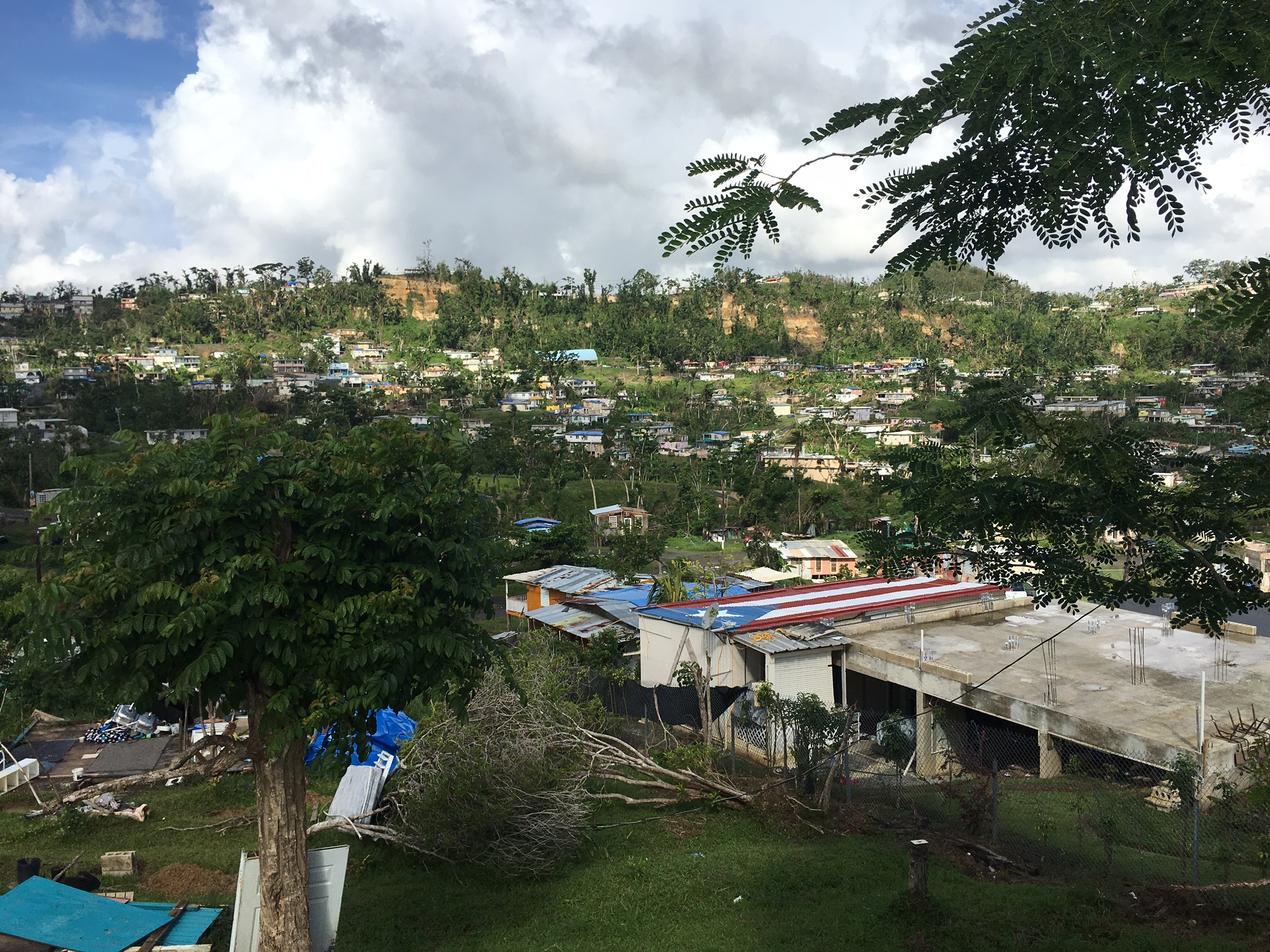 <div class='meta'><div class='origin-logo' data-origin='WLS'></div><span class='caption-text' data-credit=''>Hurricane Maria nearly wiped out parts of the interior of the island, battering communities like Villa Esperanza, Puerto Rico</span></div>