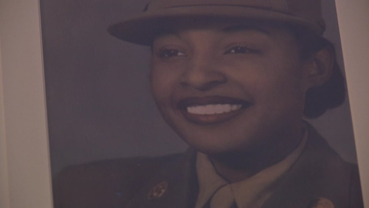 Millie Dunn Veasey joined the military's first all-black-and-female battalion when women were called to service in WWII.