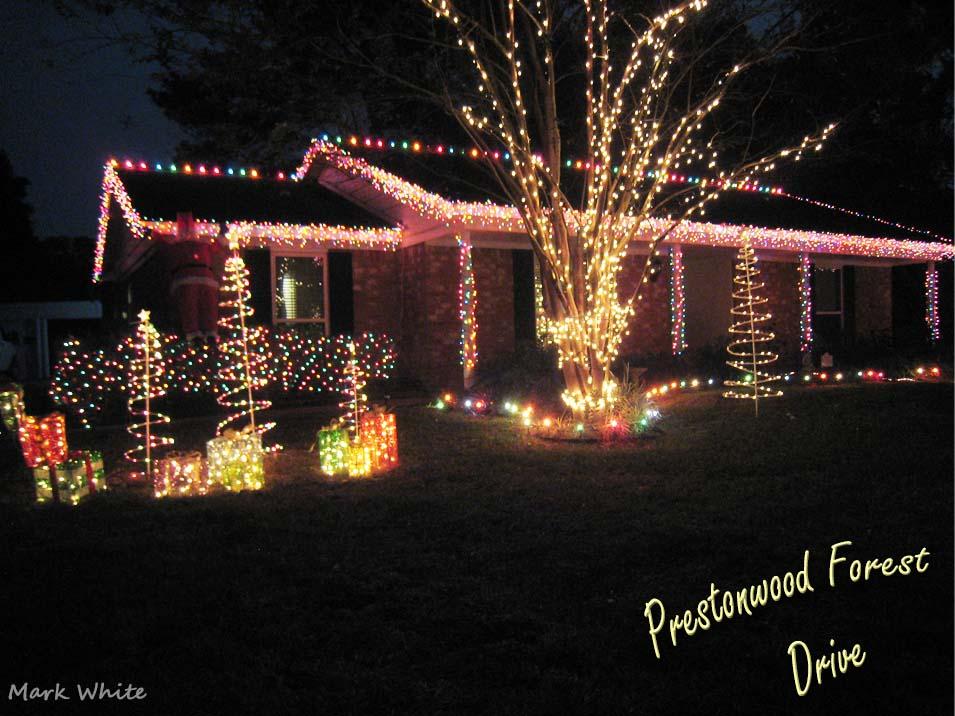 mark white - Prestonwood Forest Christmas Lights