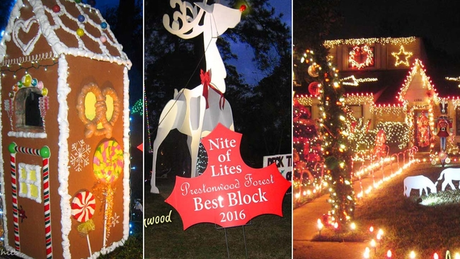 want to see some of the best christmas lights in town nite of lites offering texas sized displays abc13com - Prestonwood Forest Christmas Lights
