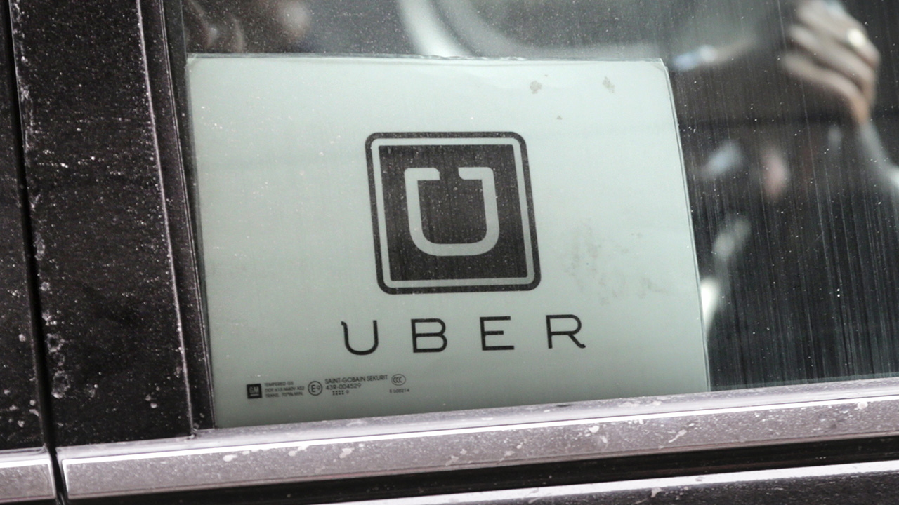 Image of an uber car.