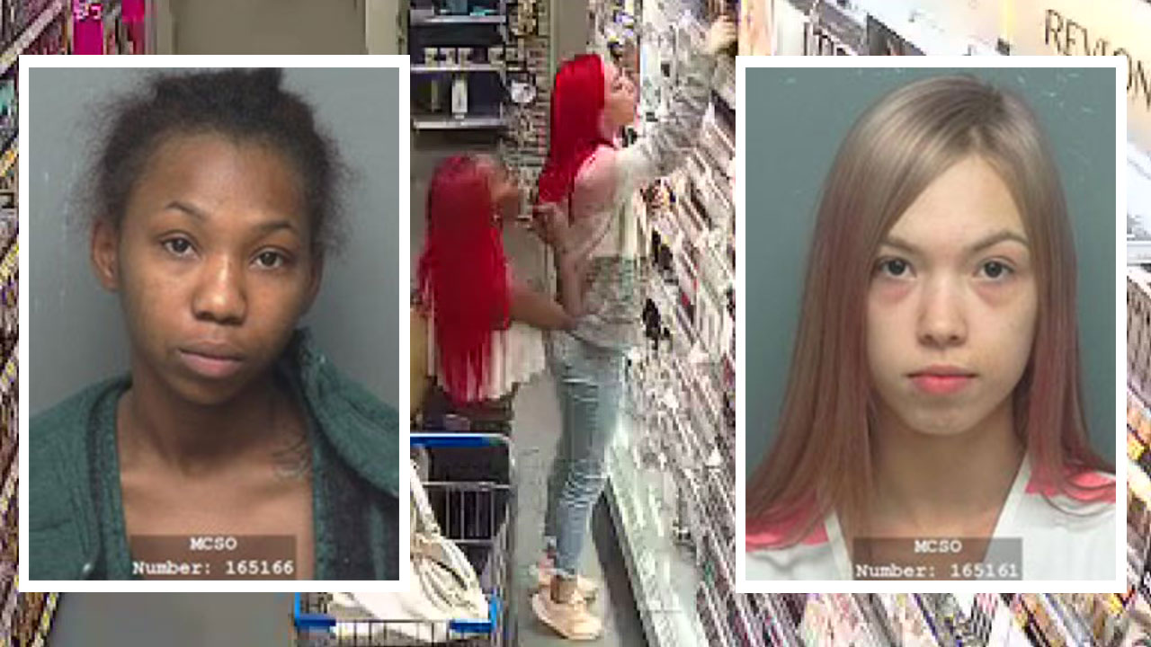 Alleged Makeup Thieves Behind Bars After Pepper Spray Attack At Walmart In Montgomery Co