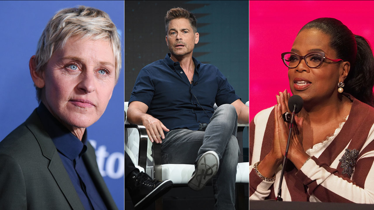 Ellen DeGeneres, Rob Lowe and Oprah Winfrey are among celebrities who own property in Montecito that is threatened by the Thomas Fire as it expands in Santa Barbara County.