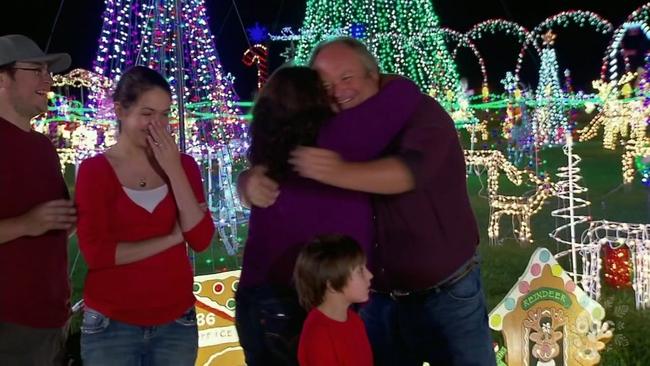 dayton family wins 50000 on abcs the great christmas light fight abc13com - Christmas Lights In Dayton Ohio