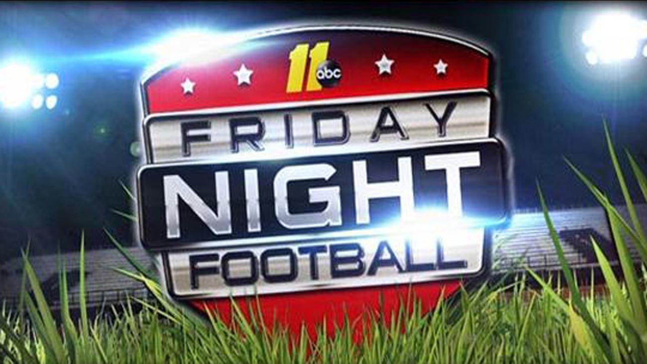 Friday night high school football generic graphic