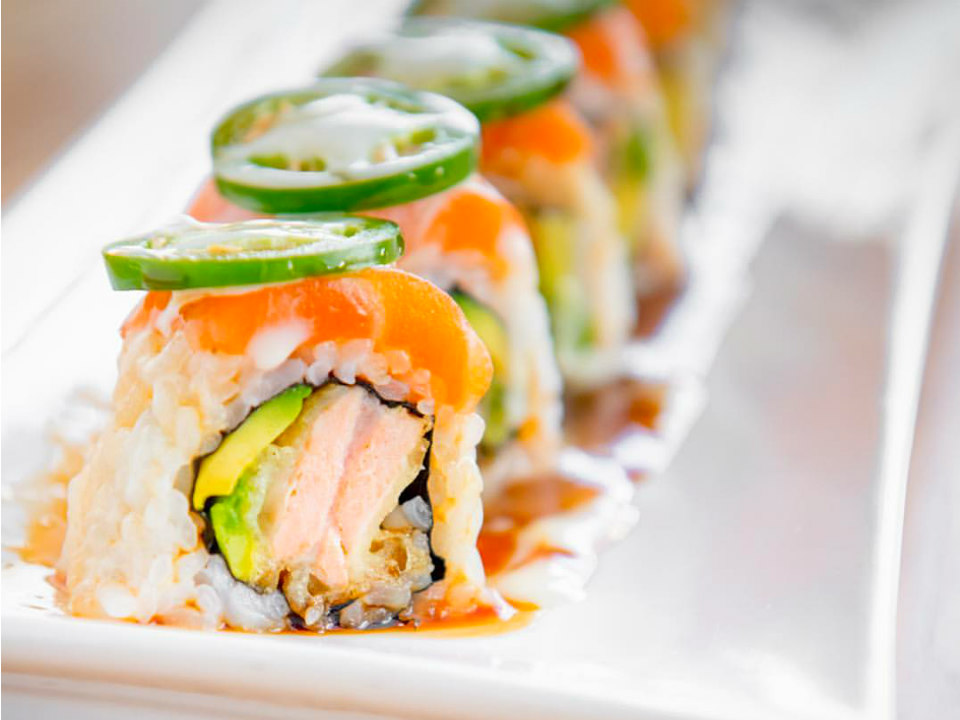 Image of sushi from Roll Call