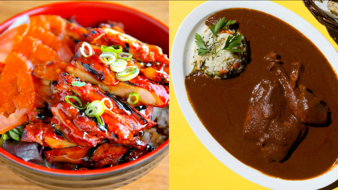 Image of food from Koreantown