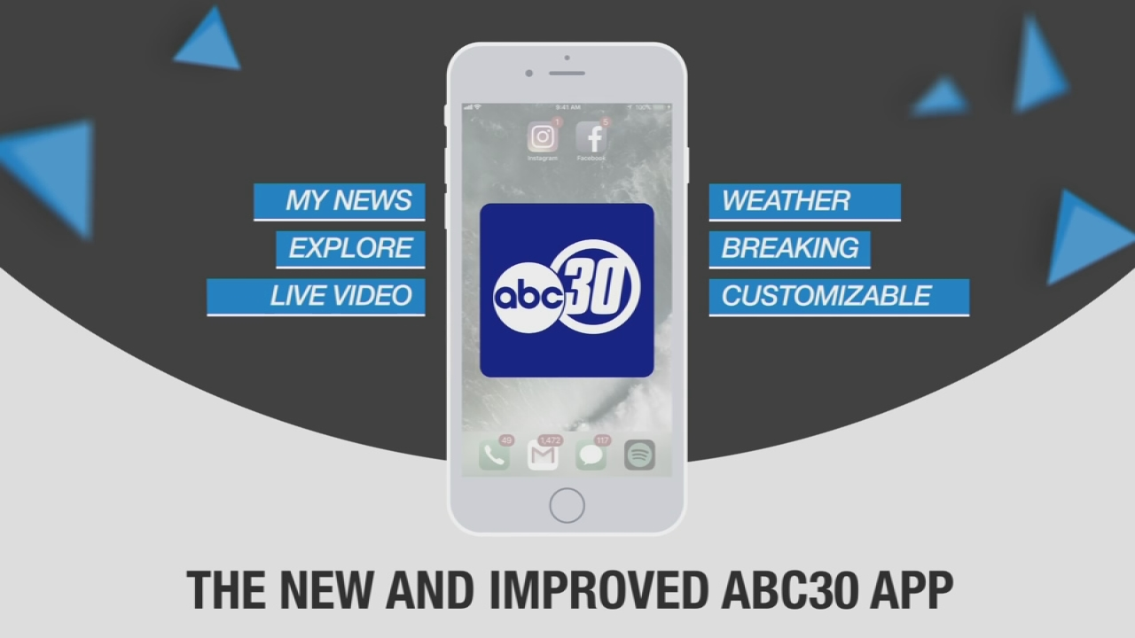The new and improved ABC30 App