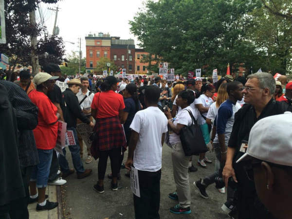 """<div class=""""meta image-caption""""><div class=""""origin-logo origin-image """"><span></span></div><span class=""""caption-text"""">Images from the """"March for Justice"""" on Staten Island on Saturday, August 23, 2014.</span></div>"""