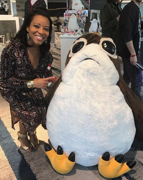 "<div class=""meta image-caption""><div class=""origin-logo origin-image wpvi""><span>WPVI</span></div><span class=""caption-text"">Sharrie Williams visits the cast of Star Wars: The Last Jedi in Hollywood.</span></div>"
