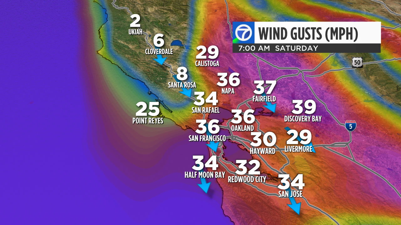 High Winds To Bring Fire Danger To Bay Area Abc7news Com