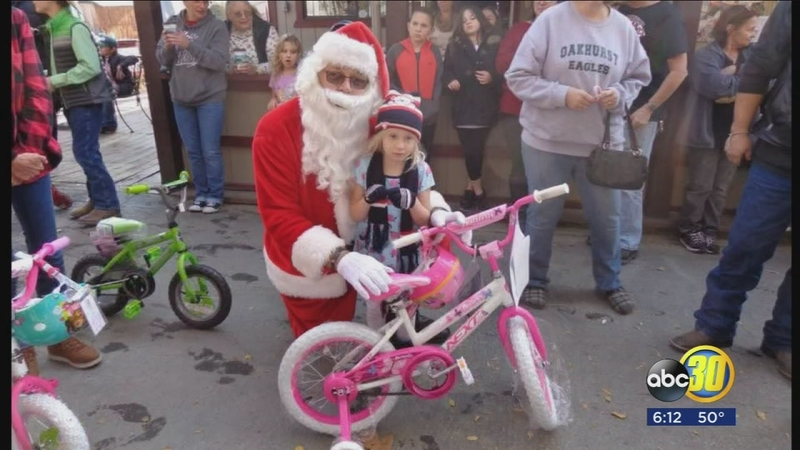 coursegold bike giveaway
