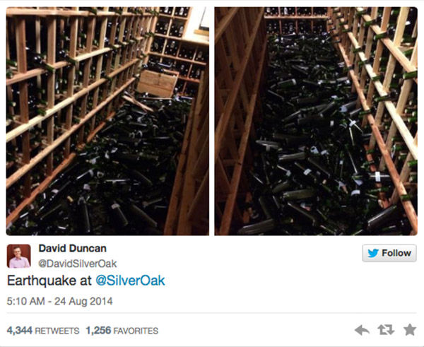 "<div class=""meta image-caption""><div class=""origin-logo origin-image ""><span></span></div><span class=""caption-text"">Damage caused to Silver Oak Cellars in Napa Valley. (David Duncan, @SilverOak)</span></div>"