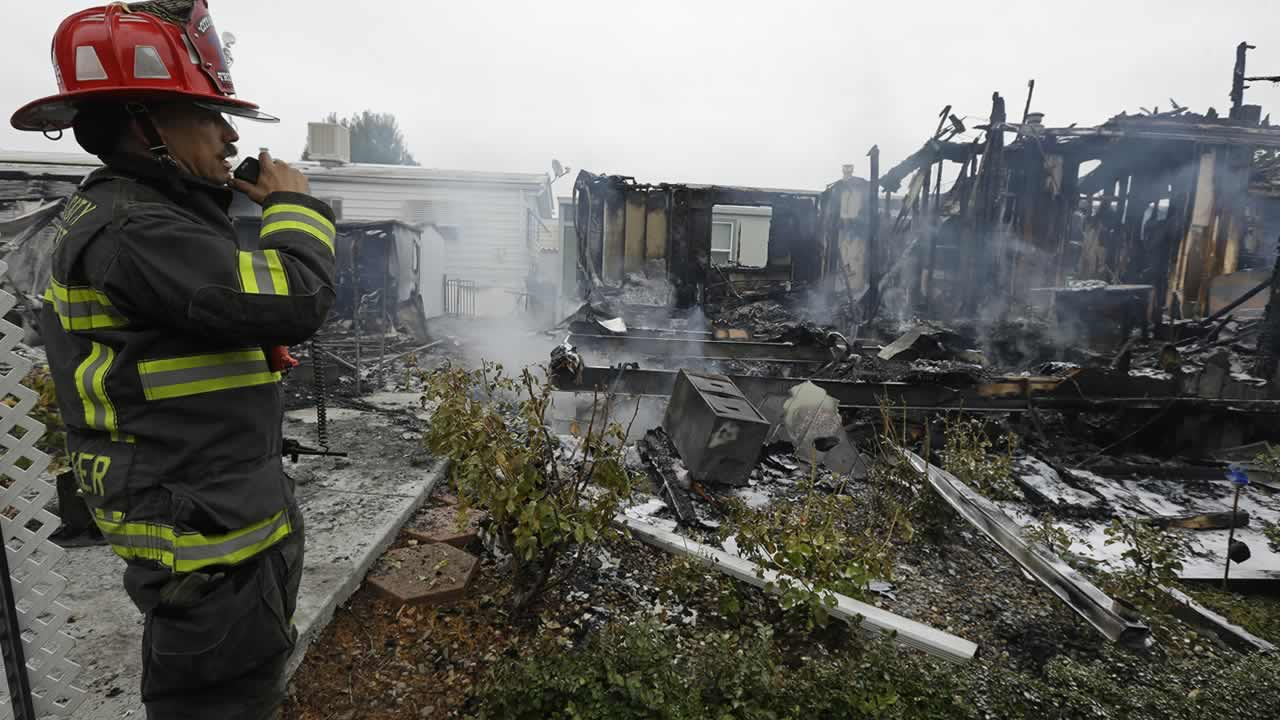 South Napa Quake In San Francisco Bay Area Causes Substantial Damage California Earthquakes 1 Turn Off Gas Mobile Homes Destroyed Fire After Earthquake