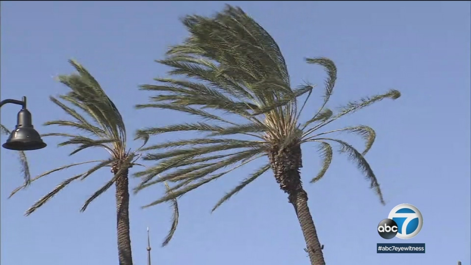 Extreme Socal Winds Cause Power Outages Damage Abc7 Los